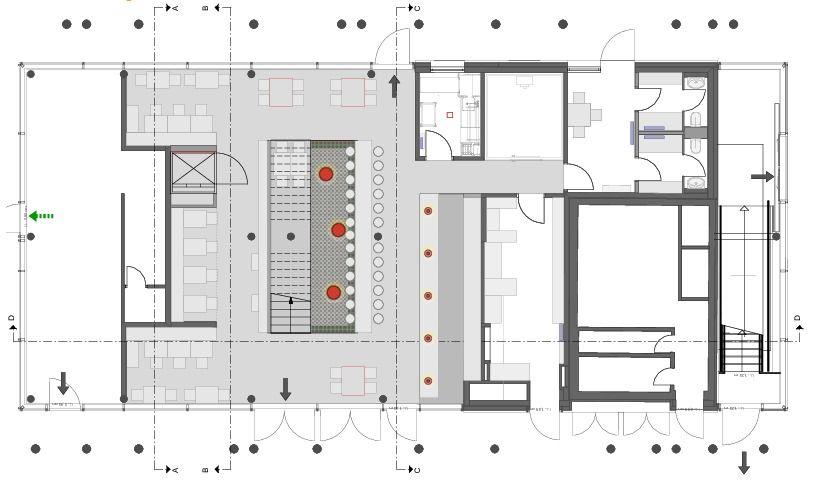 Grundriss Eg Klara Kuche Amp Bar Architekturobjekte Heinze De