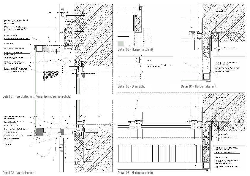 Detail kastenfenster schnitt grundriss clemens winkler - Architektur schnitt ...