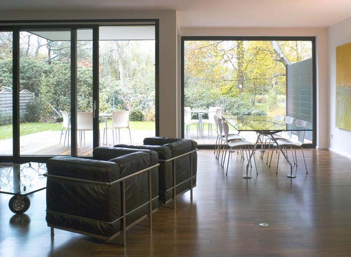 wohn-/esszimmer - exklusive wohnanlage in lüneburg, Esszimmer dekoo