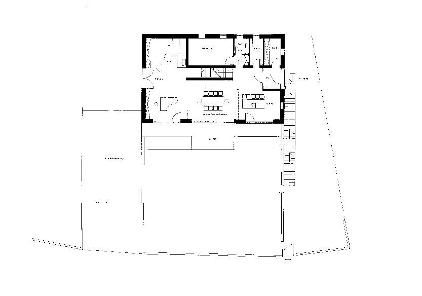 Grundriss erdgeschoss wohnhaus im altm hltal for Wohnhaus grundriss