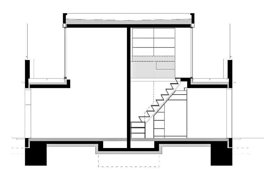 querschnitt studentenwohnanlage in m nchen. Black Bedroom Furniture Sets. Home Design Ideas