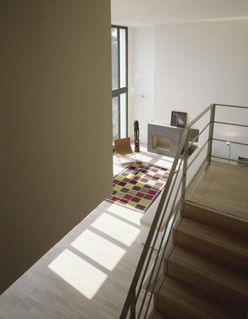 penthouse maisonette wohnung blick von oben townhouse. Black Bedroom Furniture Sets. Home Design Ideas