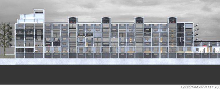 Schnitt horizontal sprechende architektur worte ber - Architektur schnitt ...