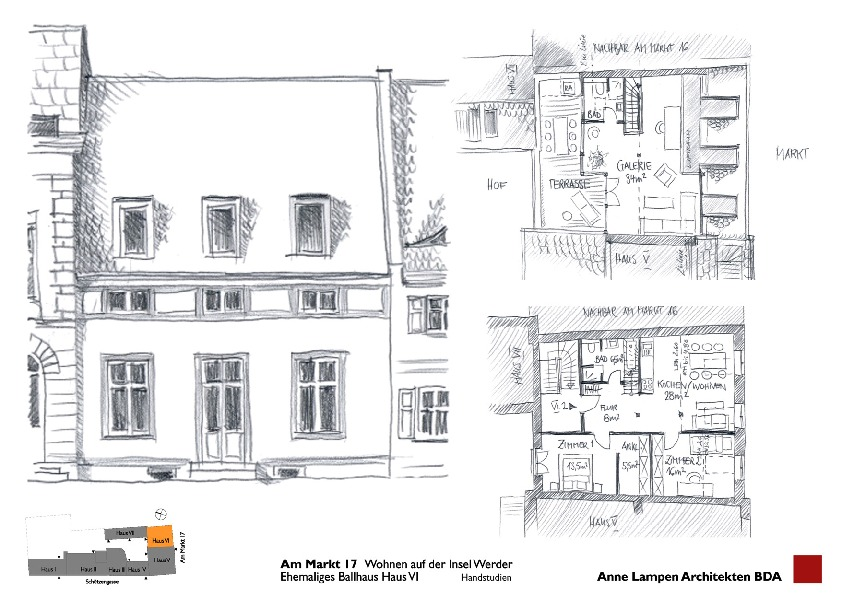 vorplanung haus vi umbau einer denkmalgesch tzten ehemaligen brauereiruine zu 24 wohnungen. Black Bedroom Furniture Sets. Home Design Ideas