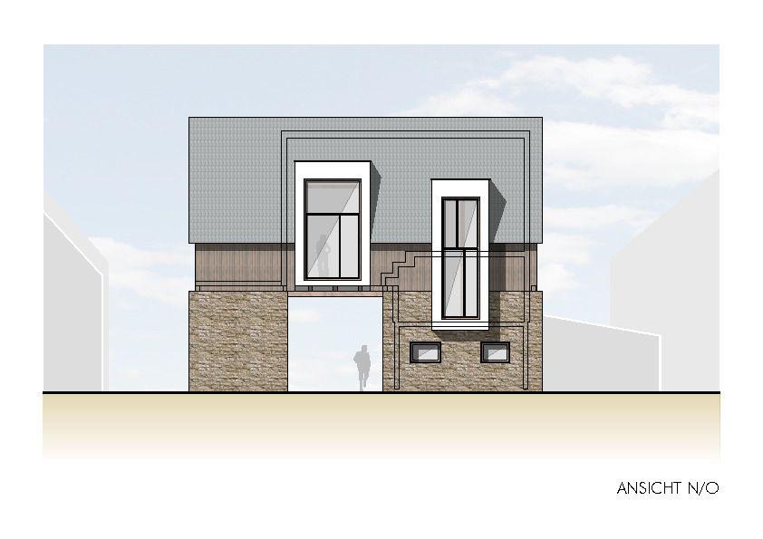 ansicht nord ost wohnen in der scheune architekturobjekte. Black Bedroom Furniture Sets. Home Design Ideas
