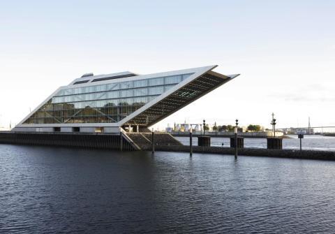 Dockland Hamburg Architekturobjekte Heinzede