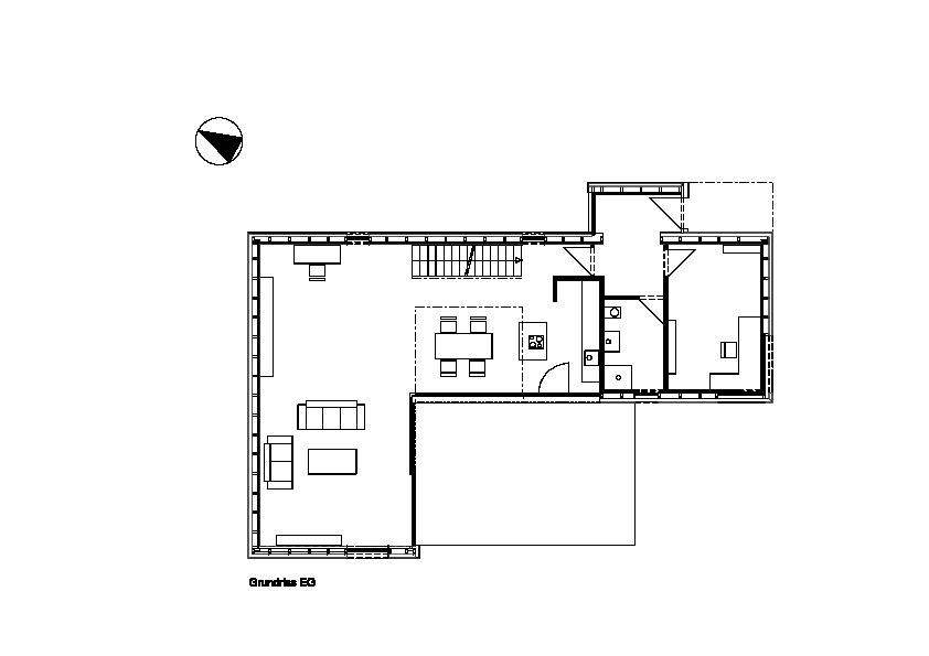 Grundriss eg wohnhaus architekturobjekte for Wohnhaus grundriss
