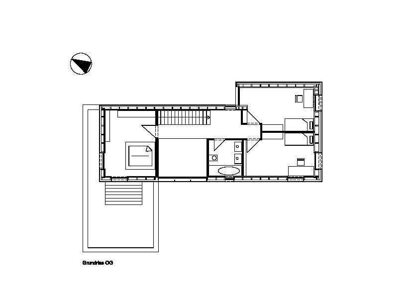 Grundriss og wohnhaus architekturobjekte for Wohnhaus grundriss