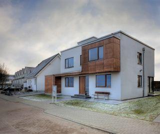 Einfamilienhaus Mit Buro In Holzbauweise