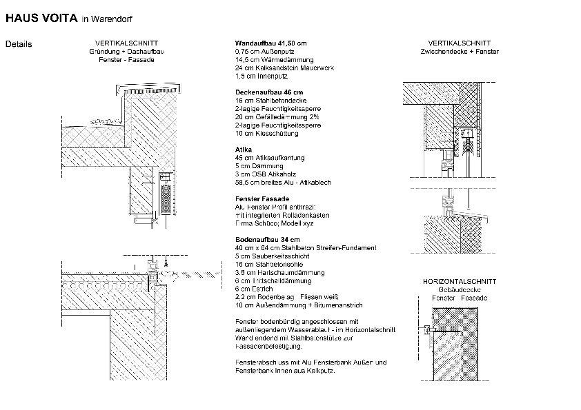 Details Haus Voita Architekturobjekte Heinze De