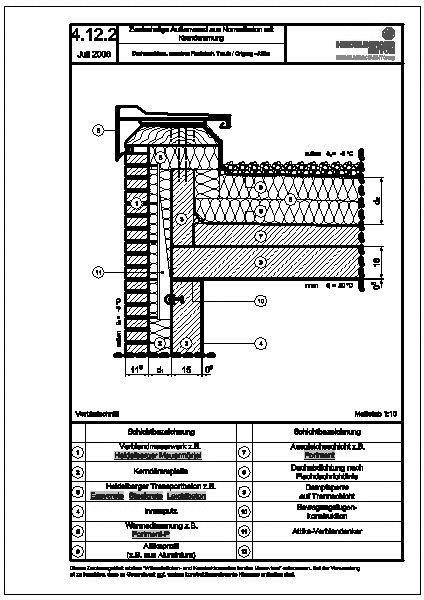 Holzbau detail  Flachdach detail holzbau – Motor und Kraft