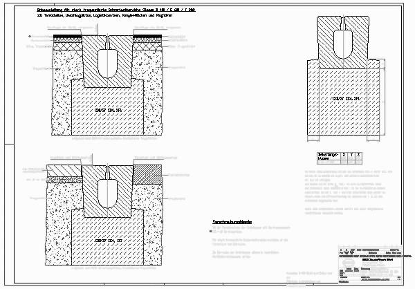 Entwässerungsrinne detail  CAD-Detail|BIRCOsolid Schlitzrinne_2669 | BIRCO - heinze.de