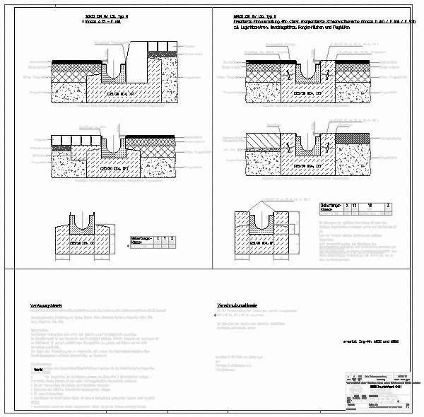 Entwässerungsrinne detail  CAD-Detail|BIRCOsir NW 150_599 | BIRCO - heinze.de