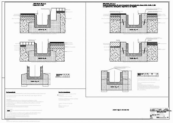 Entwässerungsrinne detail  CAD-Detail|BIRCOsir NW 400_603 | BIRCO - heinze.de