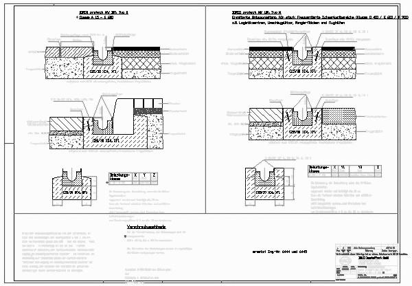 Entwässerungsrinne detail  CAD-Detail|BIRCOprotect NW 100_604 | BIRCO - heinze.de