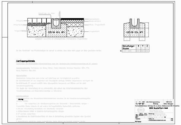 Turbo CAD-Detail | BIRCOplus NW 100 Typ M Klasse B 125 - C 250 Einbau AT17