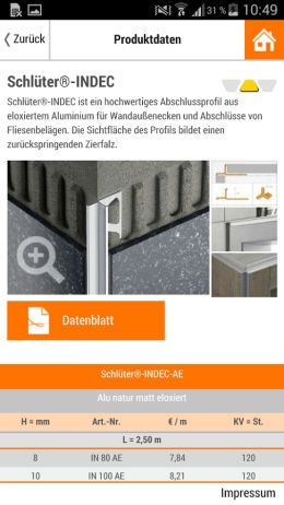 schl ter app schl ter systems. Black Bedroom Furniture Sets. Home Design Ideas