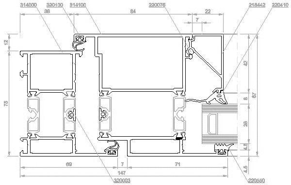 Eingangstür detail dwg  CAD-Detail|Aluminiumtüren | RAICO Bautechnik - heinze.de