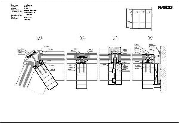 Holzfassade Detail cad detail holzfassade raico bautechnik heinze de