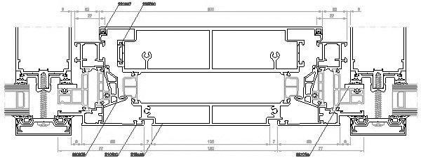 Kunststofffenster detail dwg  CAD-Detail Aluminiumfenster   RAICO Bautechnik - heinze.de