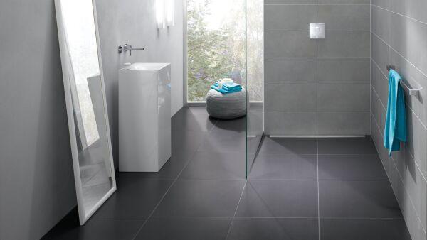 Bodentiefe Dusche Gef?lle : Bodengleiche Duschelemente mit Rinnenentw?sserung poresta systems