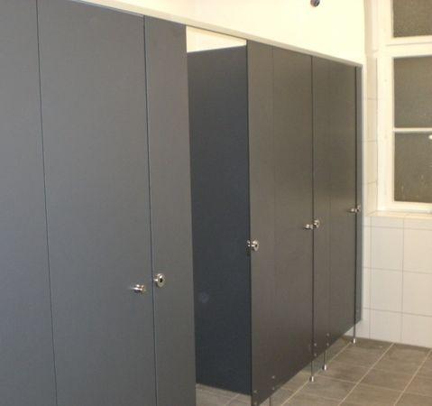 Trennwände für WC-Anlagen   HIRZ Trennwand - heinze.de