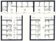 trennw nde f r sanit ranlagen hirz trennwand. Black Bedroom Furniture Sets. Home Design Ideas