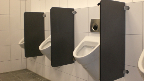 HIRZ Trennwand - Trennwände für WC-Anlagen
