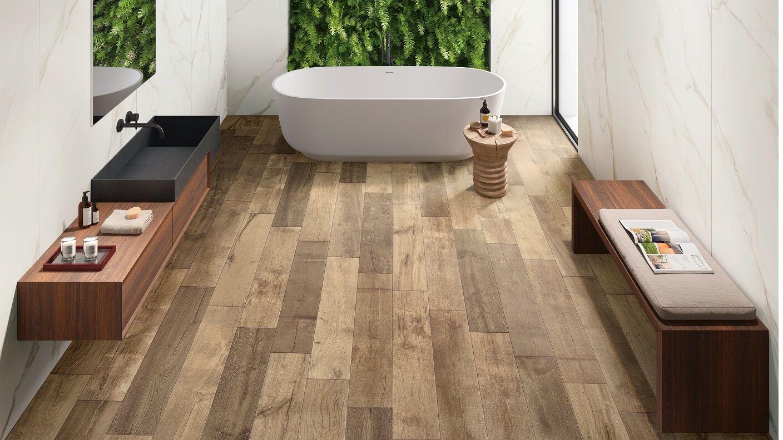Fliesen für Wand und Boden in Holz Optik   Gres Panaria Portugal ...