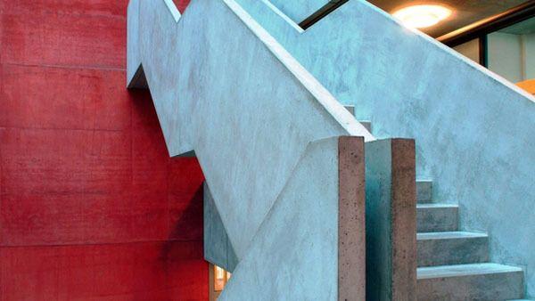 Betonbauteile Heinzede - Farbige betonplatten