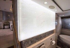 Hybrid naturstein elemente f r moderne b der grama blend - Led wandpaneel ...