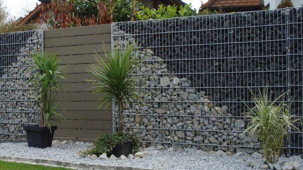 Gabionen-Systeme arcadia® Pergone® für den Garten- und ...