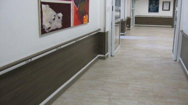 Handl ufe wandschutzbel ge und kantenschutzprofile aus vinyl gerflor mipolam - Wandschutz kunststoff ...
