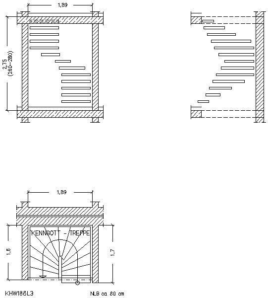 Treppen architektur detail  CAD-Detail|Halbgewendelt | Kenngott-Treppen - heinze.de