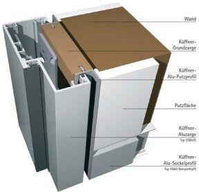 Aluminium Umfassungszargen Und Blockzargen Fur Holz Und