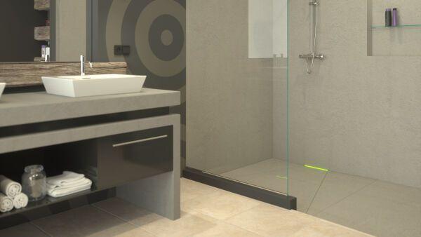 Wandablauf scada f r barrierefreie duschbereiche kessel entw sserungstechnik - Dusche mit wandablauf ...