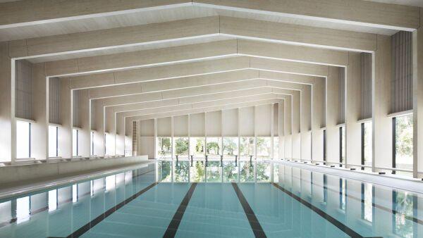 Schwimmbadkeramik agrob buchtal for Ovaler pool garten