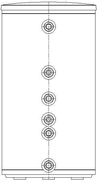 CAD-Detail | JU Warmwasserspeicher, indirekt beheizt SK 120-5 ZB ...