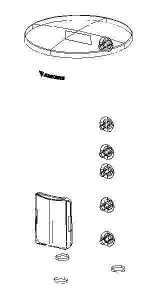 CAD-Detail | JU Warmwasserspeicher, indirekt beheizt SK 160-5 ZB ...