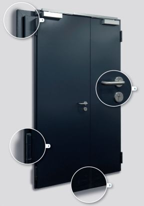 feuerschutzt ren t30 ei2 30 novoporta premio. Black Bedroom Furniture Sets. Home Design Ideas