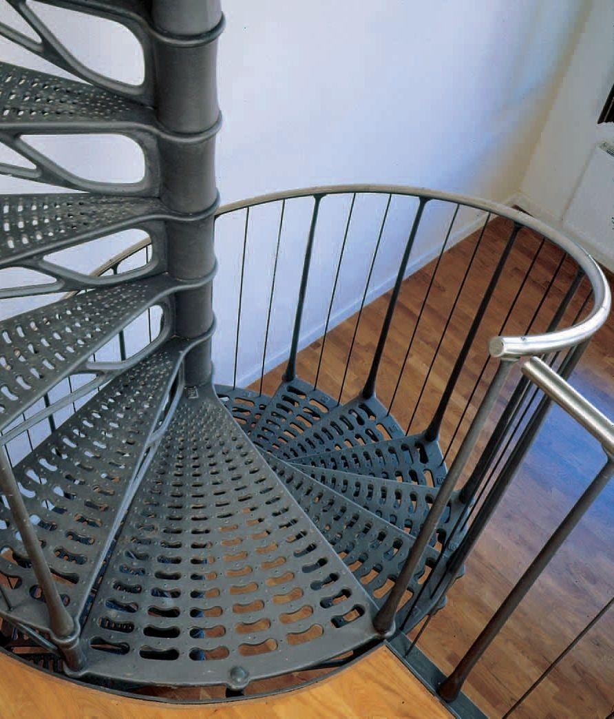 spindeltreppen aus stahl oder gusseisen spreng. Black Bedroom Furniture Sets. Home Design Ideas