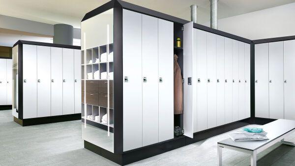umkleide und garderobeneinrichtungen c p m belsysteme. Black Bedroom Furniture Sets. Home Design Ideas