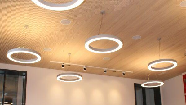 Deckenelemente Holz Mit Beleuchtung | Akustik Wand Und Deckenelemente Ladenburger Heinze De