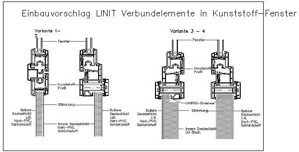 Kunststofffenster detail dwg  CAD-Detail|LINIT_Verbundelemente_in_Kunststoff-Fenster | Linzmeier ...