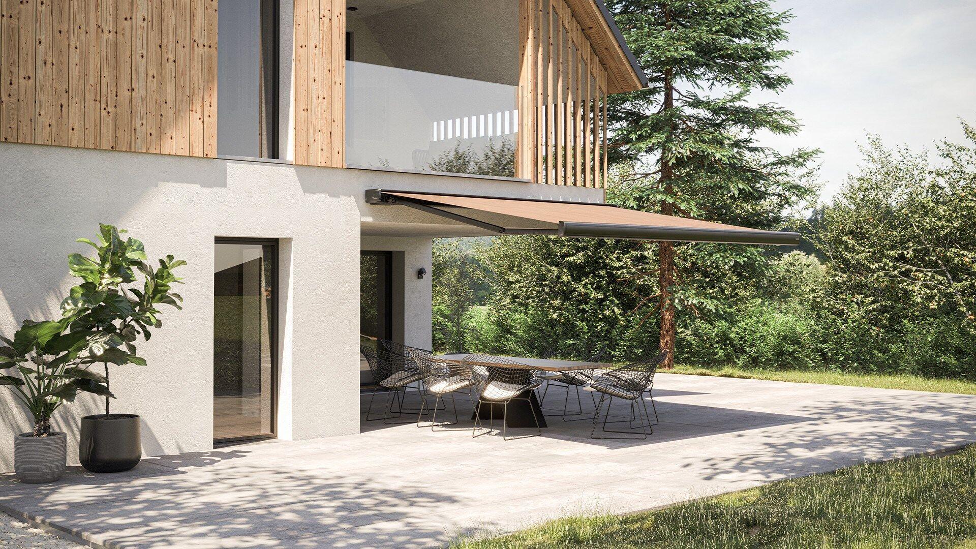 Markisen als Sonnenschutz für Terrassen und Balkone   HELLA ...