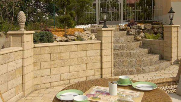 Mauer und b schungssysteme aus beton f r die gartengestaltung kann baustoffwerke - Billardtisch aus beton oeffentlichen bereich ...